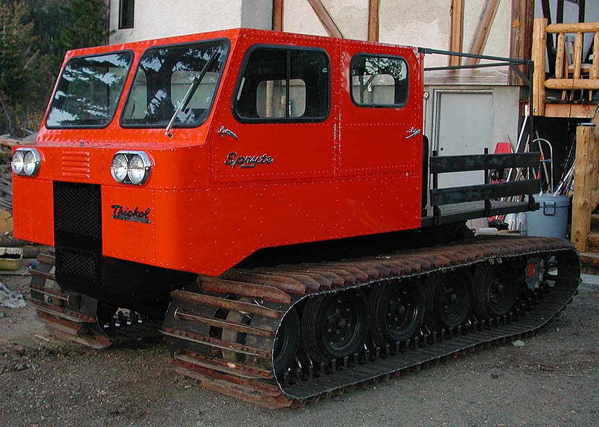 The Case for Ditching Your Truck for a Vintage Snowcat ...